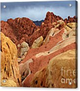 Valley Of Fire Nevada 1 Acrylic Print
