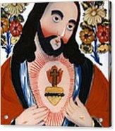 The Sacred Heart Acrylic Print