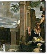 The Sacrifice Of Isaac Acrylic Print
