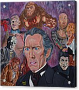 The Saga Of Frankenstein Acrylic Print