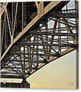 The Sagamore Bridge Acrylic Print by Luke Moore