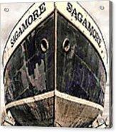 The Sagamore Dry Dock Acrylic Print