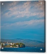 The Sagamore Hotel On Beautiful Lake George Acrylic Print