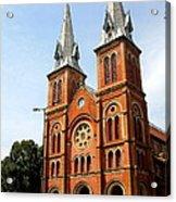 The Saigon Notre-dame Basilica Acrylic Print