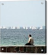 The Sailor With No Boat Acrylic Print
