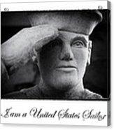 The Sailors Creed Acrylic Print