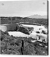The Salt River In Arizona Acrylic Print