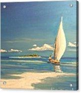 The Sand Bar Acrylic Print