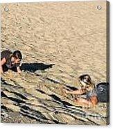 The Sand Land Acrylic Print