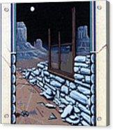 The Sand Painting Acrylic Print