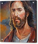 The Savior Acrylic Print by Steve Spencer