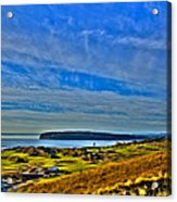 The Scenic Chambers Bay Golf Course II - Location Of The 2015 U.s. Open Tournament Acrylic Print