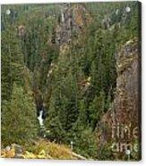 The Scenic Cheakamus River Gorge Acrylic Print