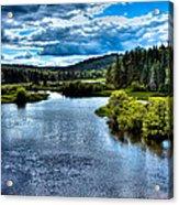 The Scenic Moose River Acrylic Print