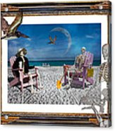 The Scientist's Vacation Acrylic Print