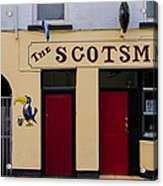 The Scottsmans Bar - Donegal Ireland Acrylic Print