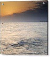 The Sea Before The Rain Acrylic Print