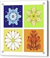The Seasons Acrylic Print