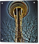 The Seattle Space Needle Iv Acrylic Print