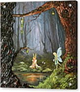 The Secret Forest Acrylic Print