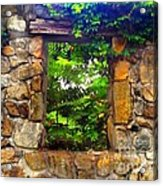 The Secret Window 1 Acrylic Print