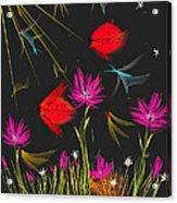 The Secrets Of The Night Acrylic Print