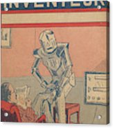 The Servant Of The Future -- A Robotic Acrylic Print