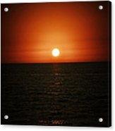 The Setting Sun Acrylic Print