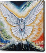 The Seven Spirits Series - The Spirit Of The Lord Acrylic Print