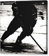 The Shadows Of Hockey Acrylic Print
