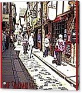 The Shambles York Acrylic Print