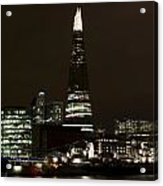 The Shard And Southbank London Acrylic Print