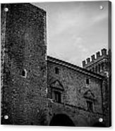 The Shattered Fortress Acrylic Print