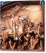 Saint Gaudens' The Shaw Memorial Acrylic Print