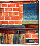 The Shed Acrylic Print by Tara Turner