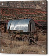 The Sheep Wagon Acrylic Print