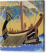 The Ship Of Odysseus Acrylic Print