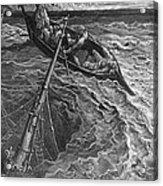 The Ship Sinks But The Mariner Is Rescued By The Pilot And Hermit Acrylic Print