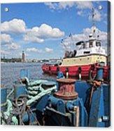 The Shipyard Acrylic Print