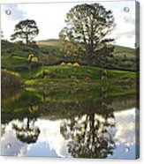 The Shire Middle Earth Acrylic Print