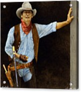 The Shootist... Acrylic Print