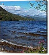 The Shore Of Loch Lomond  Acrylic Print