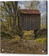 The Shortest Covered Bridge I Have Seen Acrylic Print