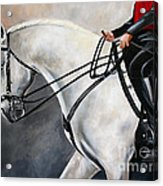 The Show Horse Stride Acrylic Print