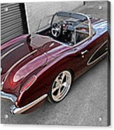 The Show Winner 1958 Corvette Acrylic Print