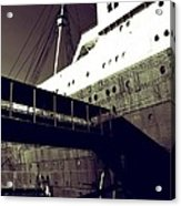 The Side Of The Big Ship Acrylic Print