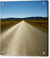 The Side Road Acrylic Print