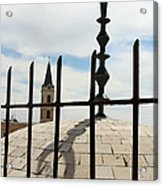 The Siege In Jerusalem Acrylic Print