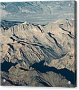 The Sierra Nevadas Acrylic Print