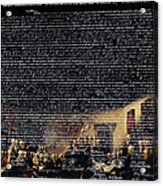 The Signing Of The United States Declaration Of Independence V2 Acrylic Print